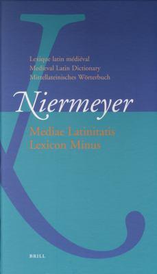 Lexique Latin Medieval - Medieval Latin Dictionary Mittellateinisches Worterbuch Standalone Version
