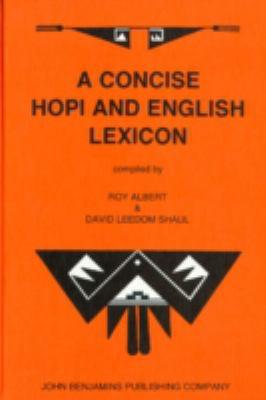 A Concise Hopi and English Lexicon