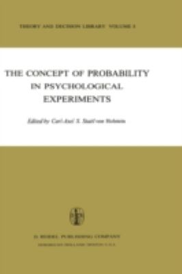 Concept of Probability in Psychological Experiments