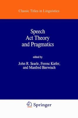 Theory pragmatics act and speech pdf