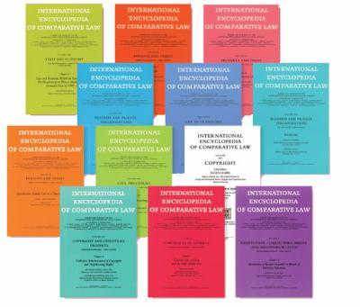 International Encyclopedia of Comparative Law: Installment 32