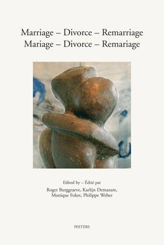 Marriage - Divorce - Remarriage. Mariage - Divorce - Remariage: Challenges and Perspectives for Christians. Defis et perspectives chretiennes (Annua Nuntia Lovaniensia)