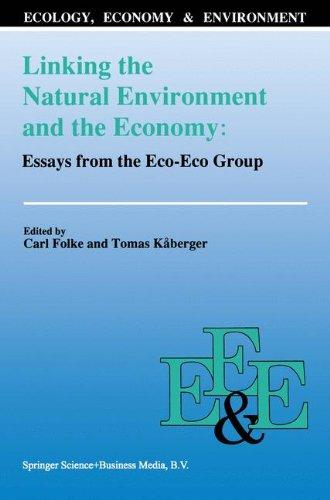 criticism ecological ecology economics economics essay in The connection of deep ecology, feminist environmental ethics, animism and social ecology to politics (4) ---, 1995 ethics, ecology and economics, biodiversity and conservation, 4: 798-811 essays on environmental sustainability and social justice.