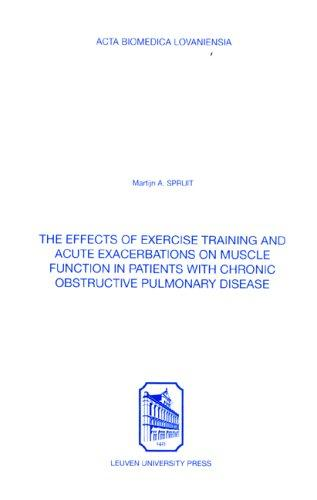 Effects of Exercise Training & Acute Exacerbations on Muscle Function in Patients With Chronic Obstructive Pulmonary Disease (Acta Biomedica Lovaniensia)