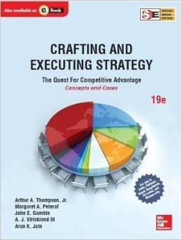 18th edition crafting and executing strategy Document read online crafting and executing strategy 18th edition solution manual crafting and executing strategy 18th edition solution manual - in this site is not.