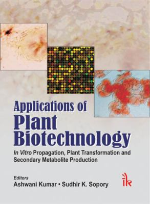 Applications of Plant Biotechnology: In vitro Propagation, Plant Transformations and Secondary Metabolite Production