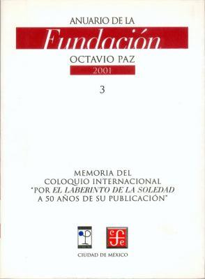 Anuario De LA Fundacion Octavio Paz