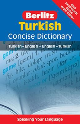 Turkish Concise Dictionary (Berlitz Concise Dictionary) (English and Turkish Edition)