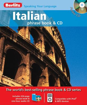 Berlitz Italian Phrase Book & CD (English and Italian Edition)
