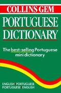 Collins Gem Portuguese Dict.,new Ed.