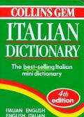 Collins Gem Italian Dictionary Italian-English English-Italian