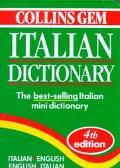 Collins Gem Italian Dictionary Italian-English English-Italian