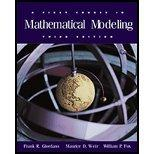 First Course in Mathematical Modeling-Textbook Only