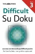 Times Difficult Su Doku Book 3 (Sudoku)