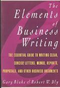 Elements of Business Writing