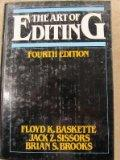 Art of Editing - Floyd K. Baskette - Hardcover - 4th ed
