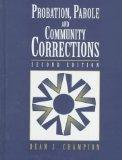Probation,parole,+community Corrections