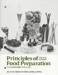 Principles of Food Preparation A Laboratory Manual