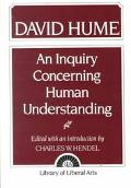 Inquiry Concerning Human Understanding an Abstract