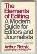 Elements of Editing: A Modern Guide for Editors and Journalists