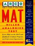 Mat, Miller Analogies Test - William Bader - Paperback - 6th ed