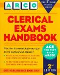 Clerical Exams Handbook - Arco Publishing - Hardcover - 2ND