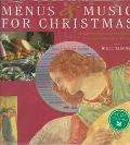 Music and Menus for Christmas - Willi Elsener - Hardcover - BOOK & CD