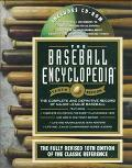 Baseball Encyclopedia: The Complete & Definitive Record of Major League Baseball (with CD-ROM)