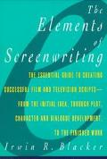 Elements of Screenwriting A Guide for Film and Television Writers