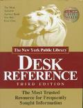 New York Public Library Desk Reference
