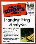 Complete Idiot's Guide Handwriting Analysis