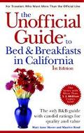 Unofficial Guide to Bed & Breakfasts in California