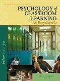 Psychology of Classroom Learning, 2 Vol. Set: An Encyclopedia