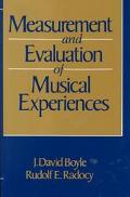 Measurement+evaluation of Music.exper.
