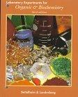 Laboratory Experiments for Introduction to Organic & Biochemistry (Saunders Golden Sunburst ...