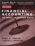 Financial Accounting: The Impact on Decision Makers : Student Notes to Lectures in Powerpoint