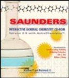 Saunders Interactive General Chemistry CD ROM Version 2.5 with Activchemistry