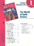 Holt Science and Technology: Earth Science: The World of Earth Science