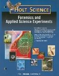 Modern Chemistry: Forensics and Experiments