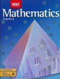 Holt Mathematics, Course 2, Grade 7