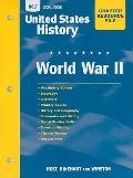 United States History: World War II