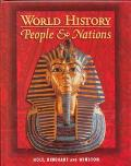 World History People & Nations