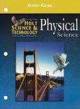 Holt Science & Technology: Physical Science