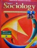 Sociology: The Study of Human Relationships - Holt, Rinehart and Winston Staf - Hardcover - ANN