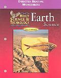 Holt Science and Technology Earth Science Directed Reading Worksheets California Edition