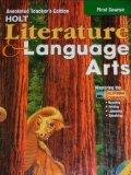 Holt Literature and Language Arts, Grade 7 - Holt, Rinehart and Winston Staf - Hardcover - ANN