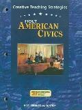 American Civics: Creative Teaching Strategies