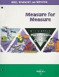 Measure/Measure Math/Context