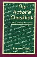 Actor's Checklist Creating the Complete Character