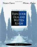 French Oral and Written Revision Exercise Manual